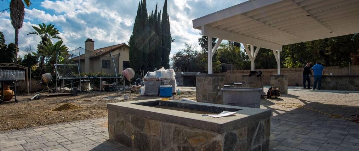 Backyard Remodeling-Fire pit-West Hills | Remodeling ... on Backyard Renovation Companies id=88334