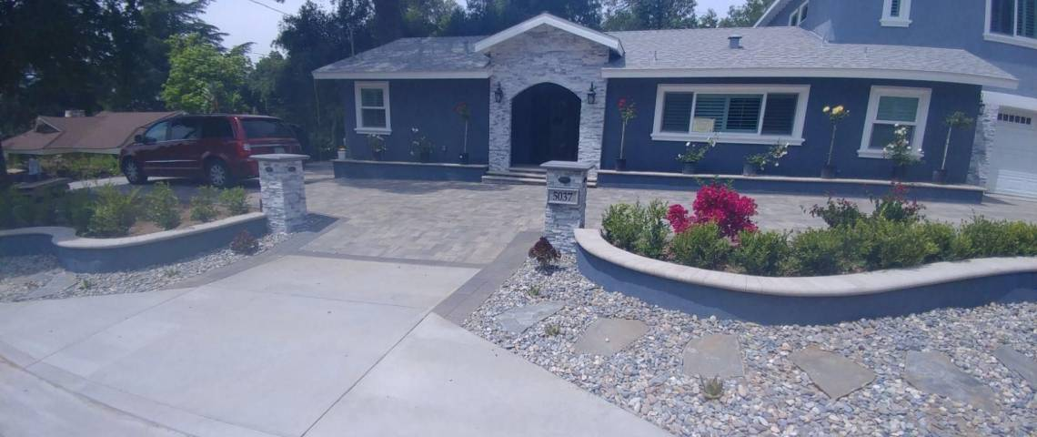 Front Yard Remodeling Calabasas Remodeling Contractors