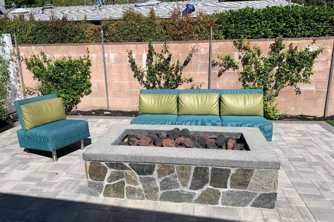 Backyard renovation-Fire pit-Thousand Oaks | Remodeling ... on Backyard Renovation Companies id=93966