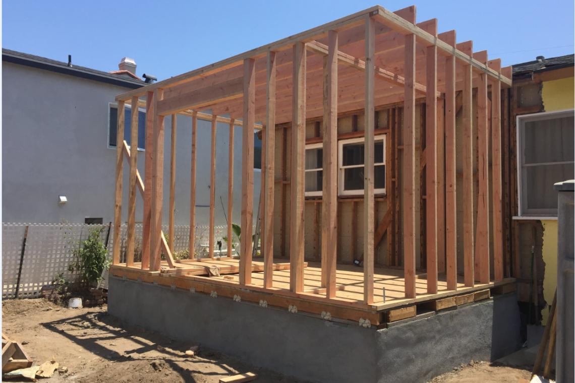 Backyard remodeling-room addition-Northridge - 1 ... on Backyard Renovation Companies id=13204
